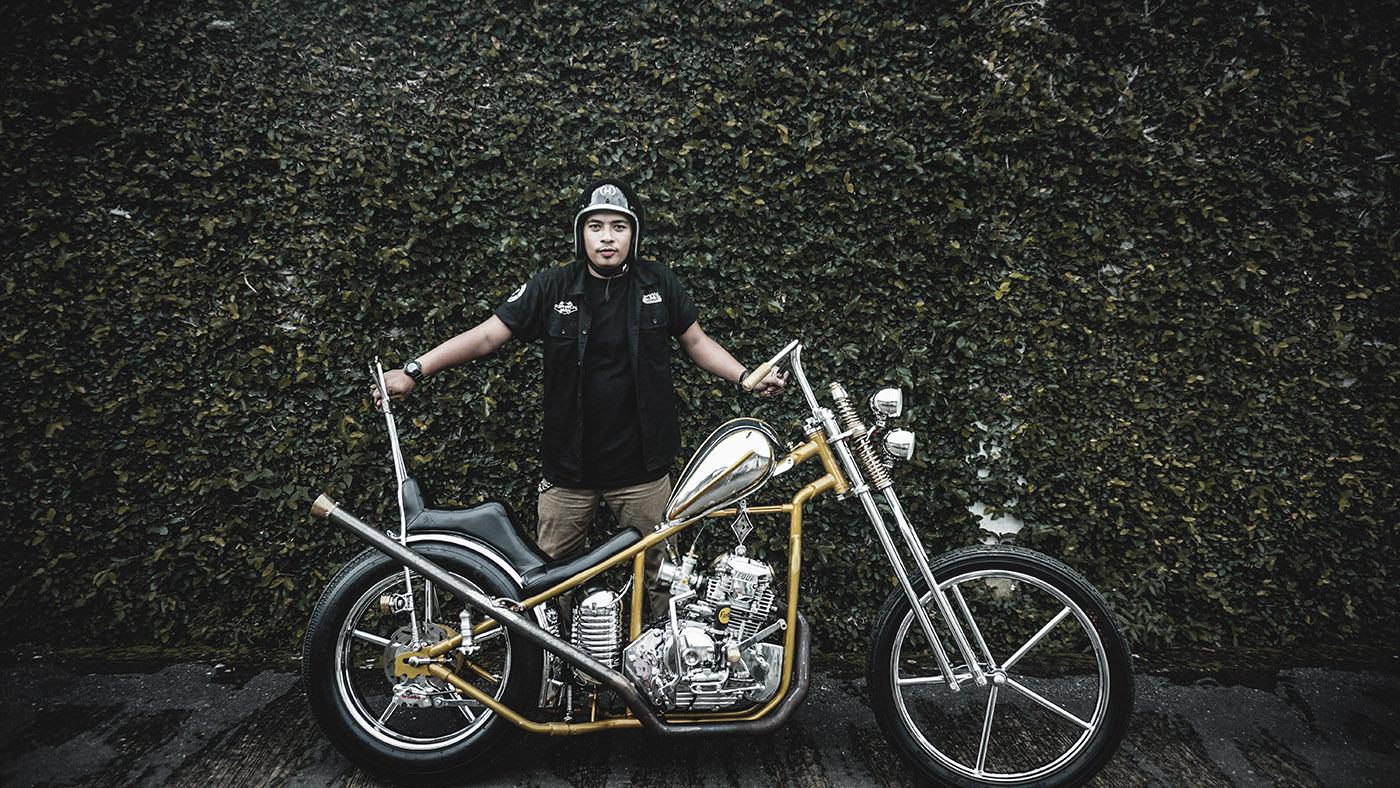 chopper yamaha scorpio