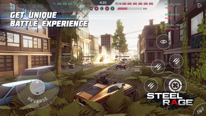 Steel Rage: Mech Cars PvP War, Twisted Battle 2020 Mod