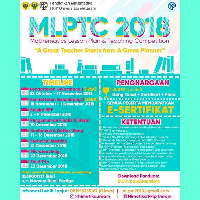 Lomba Mathematics Lesson Plan & Teaching 2018 Mahasiswa