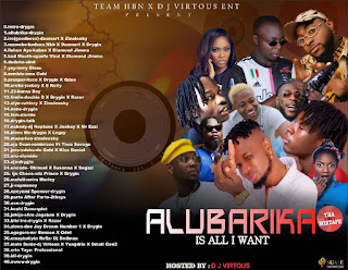 [Mixtape] Drygin Arole x Dj Virtuous - Allubarika Mixtape