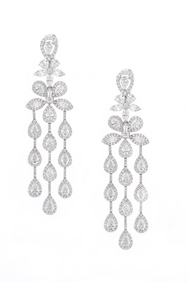 Entice diamond chandelier earrings from Irresistible Diamonds Collection