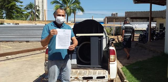 Sebrae em Rondônia, como faz periodicamente, realiza doação de bens