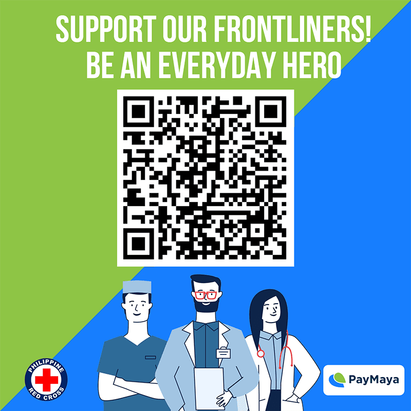 You can support frontliners fighting COVID-19 and more using PayMaya QR