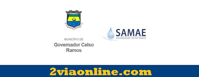 2Via SAMAE Governador Celso Ramos-SC: consultar e gerar boleto