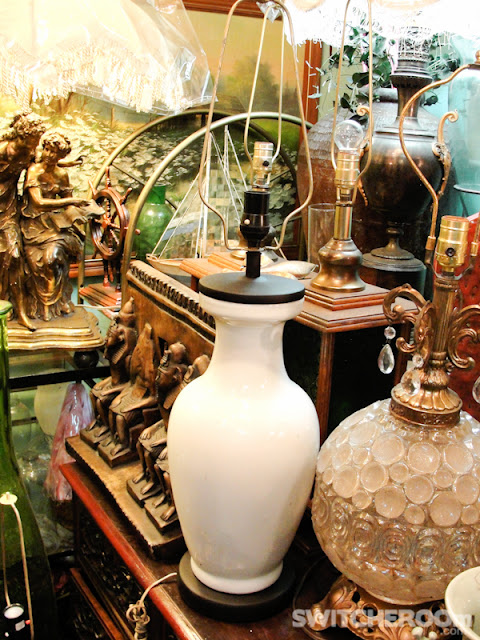 kamuning thrift shop,ornate mirror, brass lamps, venetian mirror