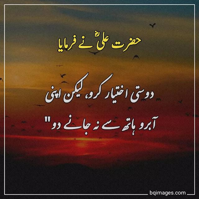 mola ali quotes in urdu