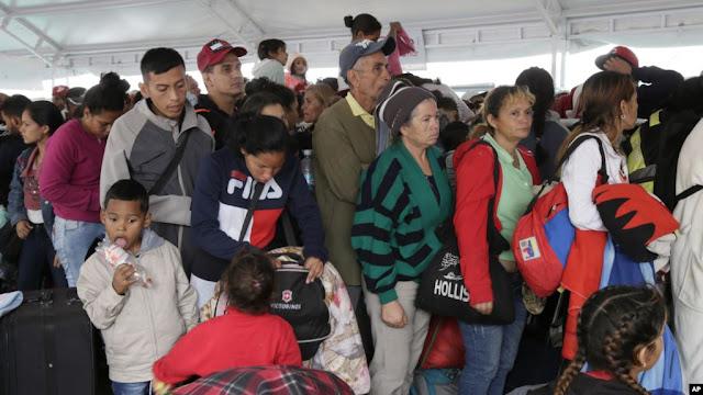 AMÉRICA: ACNUR muestra preocupación por flujo migratorio que se vive en Latinoamérica proveniente de Venezuela.