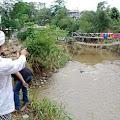 Bangunan Ponpes STAI Karisma, Kh Aang Jejen,ZA. 'Terancam' Akibat Banjir Bandang