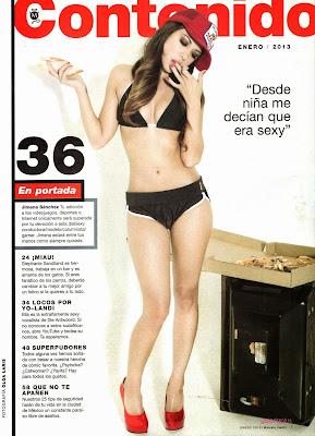 Fotos Jimena Sánchez Revista Maxim México Enero 2013