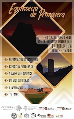 exquinoccio de primavera La Quemada Zacatecas 2016