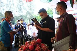 UMKM Samosir Goes Digital, Pasarkan Produk Melalui Aplikasi eonan.samosirkab.go.id