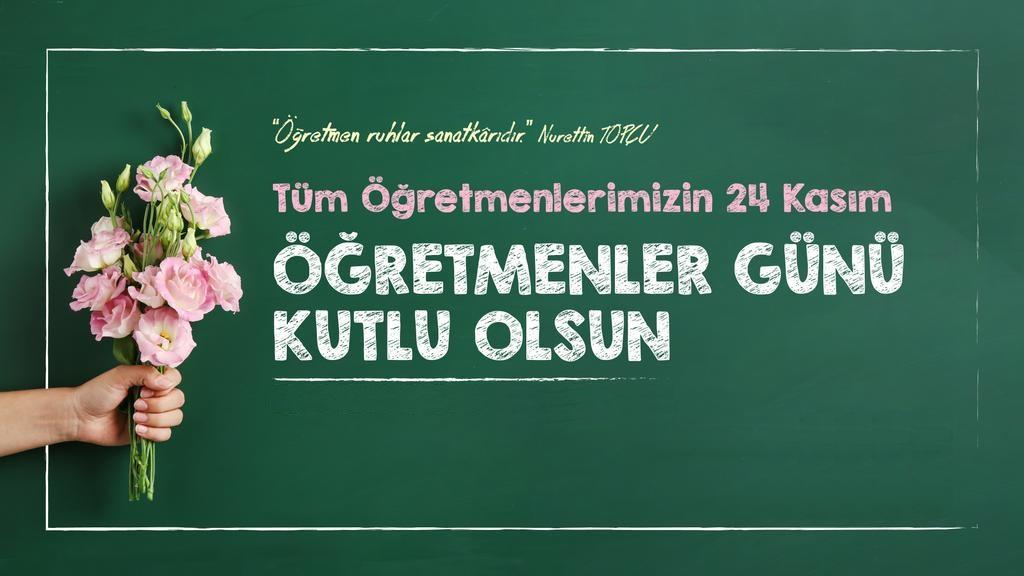 24 Kasım Öğretmenler Gününüz Kutlu Olsun Resimli Mesajlar