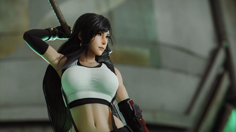 Tifa Lockhart, Final Fantasy 7, 4K, #3.2744