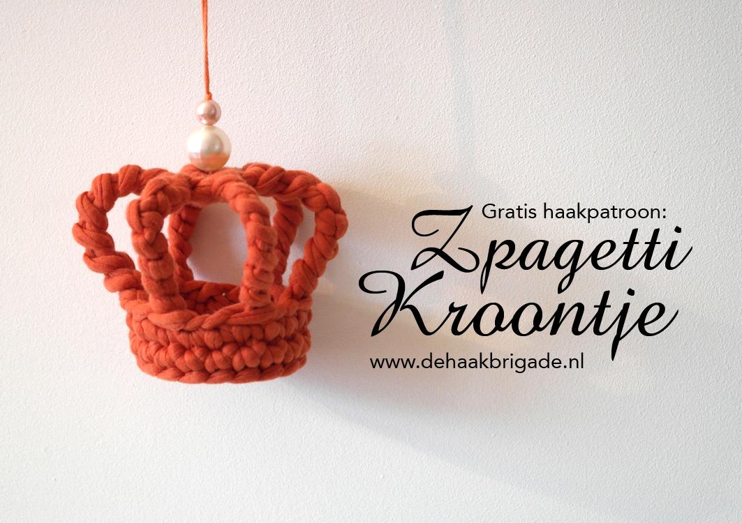 Haken Voor Kinderen Gratis Haakpatroon Zpagetti Kroontje