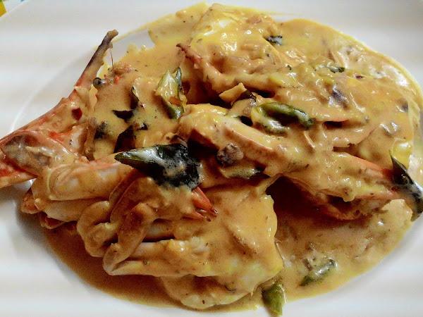 Resepi Ketam Masak Butter/Butter Crab mudah cara Cik Sue.