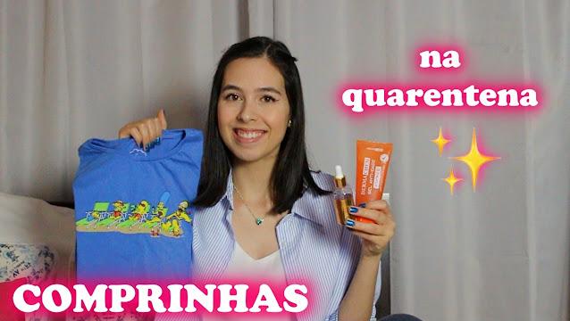 Comprinhas na quarentena, C&A, Francisca Jóias, Mais Vaidosa e Ikesaki
