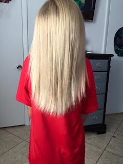 boy donates hair to children with hair lost
