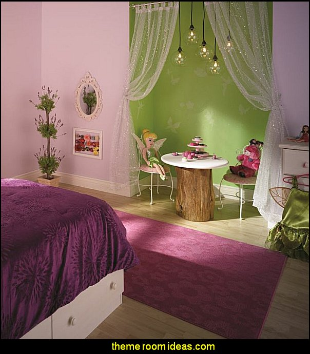 TINKERBELL THEME BEDROOM DECORATING IDEAS  fairy tinkerbell bedroom decorating ideas fairies - tinker bell fairy bedrooms - tinkerbell theme decorating - Tinkerbell fairy -  Disney fairies - adult fairy bedrooms - teens fairy theme bedrooms tinkerbell wall mural