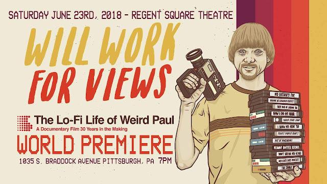 Weird Paul movie poster