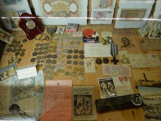 Parco Gallorose(ガッロロゼ公園)コインの展示