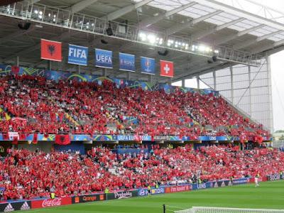 Switzerland v Albania, Euro 2016, Lens.