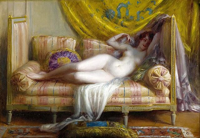 Delphin Enjolras - odalisca - erotismo arte - dipinti