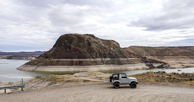 Elephant Butte, errands and more off-road meandering