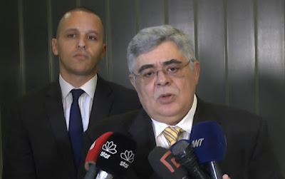 Ο Ν. Γ. Μιχαλολιάκος στο Υπουργείο Εξωτερικών. (ΒΙΝΤΕΟ)