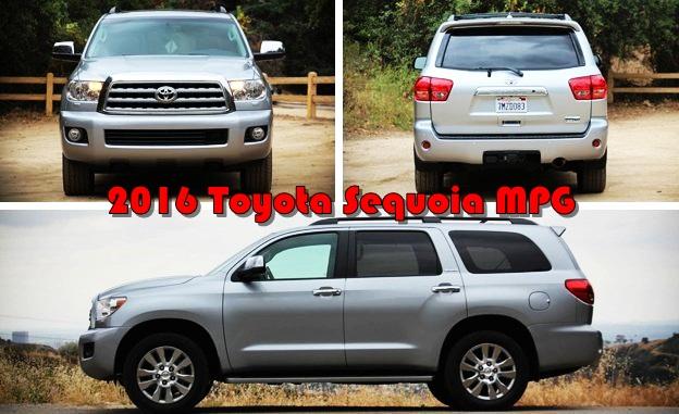 2016 Toyota Sequoia MPG