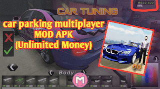 car parking multiplayer mod apk unlocked everything