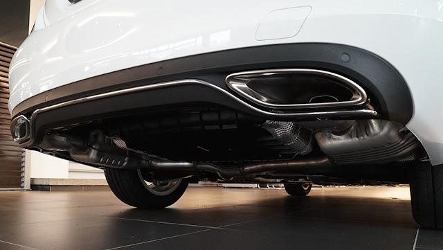 Cản sau Mercedes C180 2020