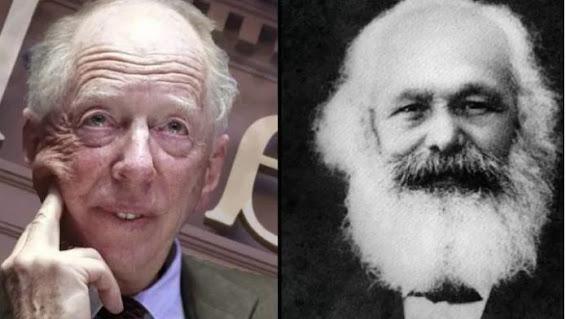 Karl Marx Rothschild socialism communism freemasonry oligarchy