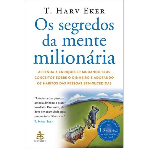 Capa Livro Os Segredos da Mente Milionária