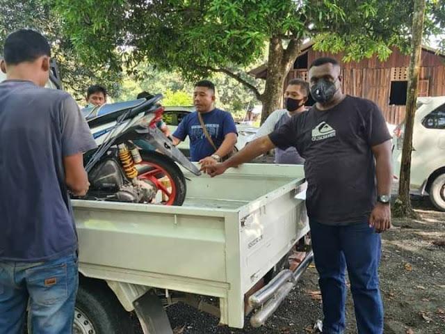 Polisi Amankan Pelaku Penggelapan Motor di Sarmi