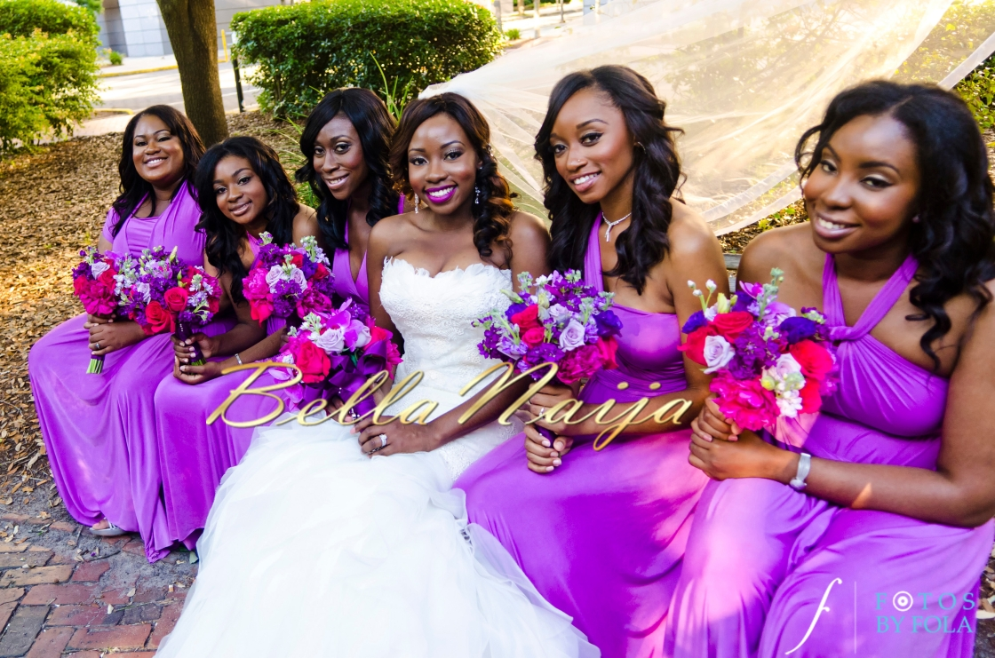 Bellanaija chief bridesmaid dresses in nigeria bridal train ideas see latest ankara styles for couples with matching outfits ombrellifo Choice Image