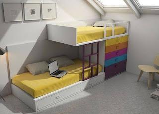 habitacion para hermanos jovenes