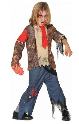 Halloween Kinder kostuum zombie