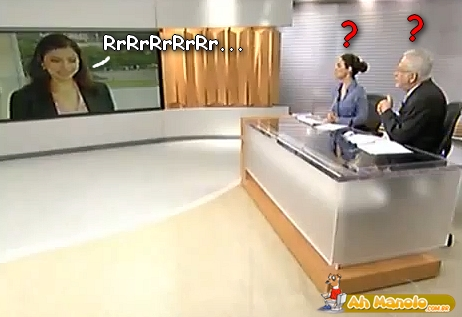 Reporte da Globo Imitando o Kiko