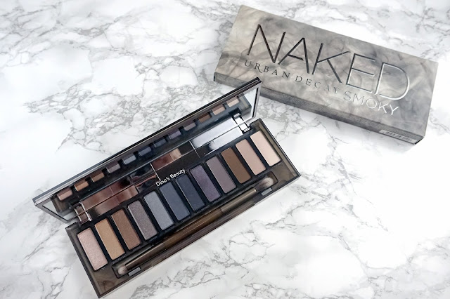 Dino's Beauty Diary - Urban Decay Smoky Palette Review and Swatches
