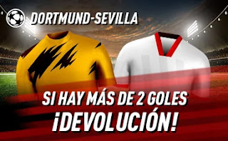 sportium promo Dortmund vs Sevilla 9 marzo 2021