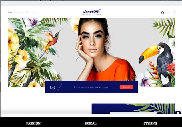 free salon website builder-wix-2