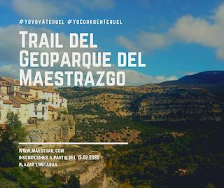 Teruel trail geoparque maestrazgo maestrail mayo 2020