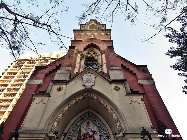 Perspectiva inferior da Capela do Menino Jesus e Santa Luzia - Sé - São Paulo