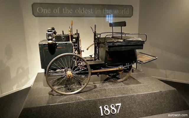 El coche más antiguo del mundo en el Museo Louwman