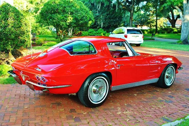 1963 Chevrolet Corvette Split Window 327 V8 Muscle Car