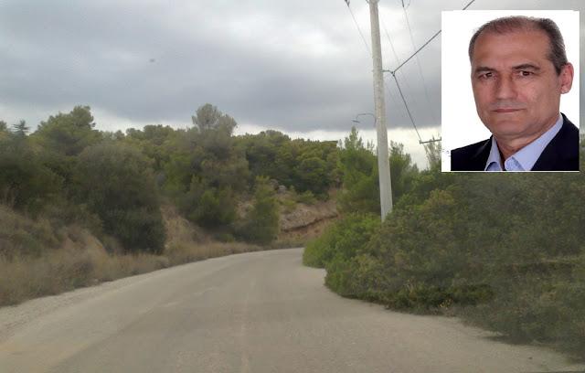 Τάσος Τόκας: Απαιτείται άμεση παρέμβαση για την αποκατάσταση του οδικού δικτύου στον Δήμο Ερμιονίδας