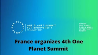 4th One Planet Summit