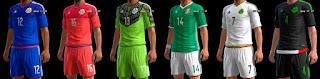kit Mexico 2016 Pes 2013