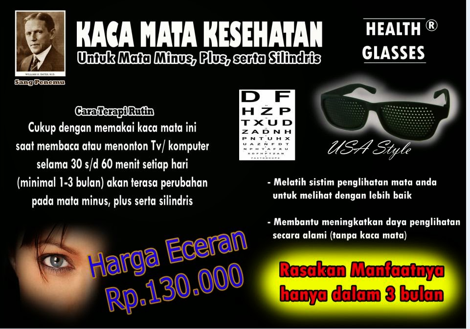 Yossitrixie JUAL Kacamata Vision Therapy Untuk